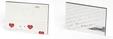 Liebespostkarte von Your Design