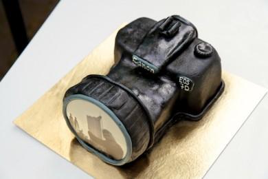 essbarer Fotoapparat