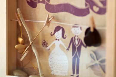 Gutscheinrahmen Hochzeit