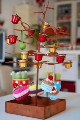 Gehäkelte Cupcakes